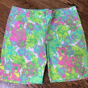 Lilly Pulitzer shorts, resort fit, size 14